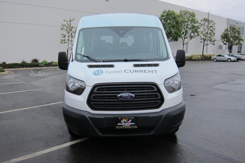 Ford Transit Van >> Full Vehicle Wrap Ford Transit Passenger Van, Long Beach CA
