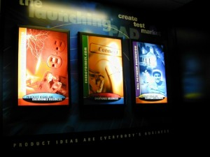 Back Lit Displays By Iconography Long Beach Orange