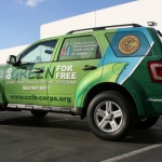 Ford Escape Full Wrap Custom Design by Iconography