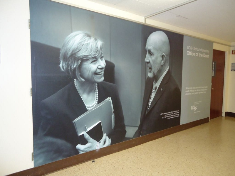 UCSF Wall Wraps