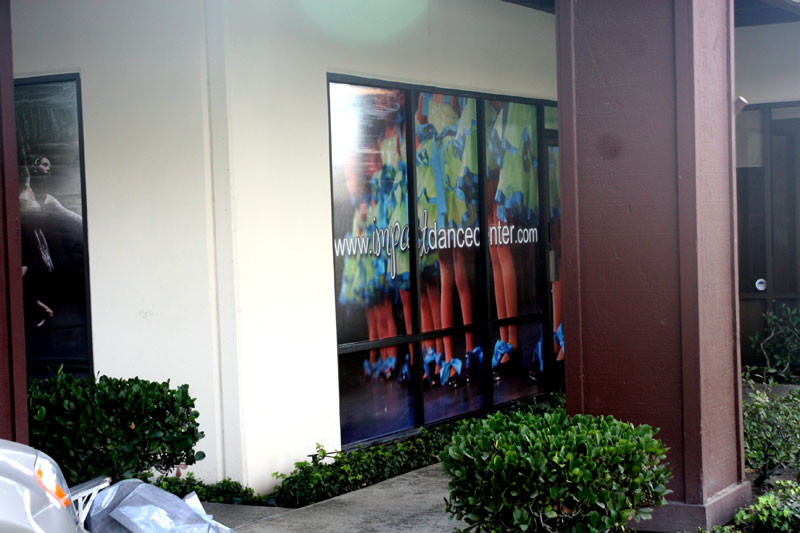 Window Wraps At Los Alamitos Dance Center