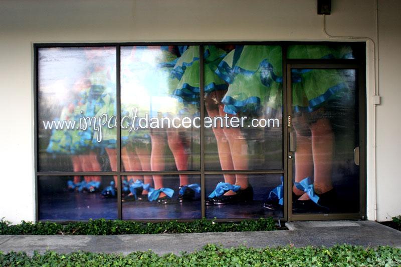 window wraps at los alamitos dance center