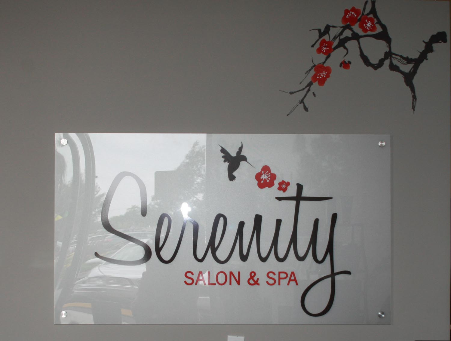 Indoor Lobby Signs By Iconography Long Beach Orange
