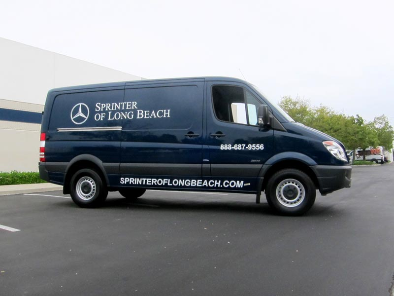Sprinter Van Partial Vehicle Wrap By Iconography Long