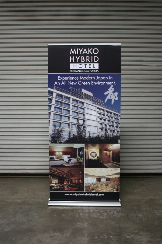 36 Quot Indoor Retractable Banner And Stand Torrance Ca