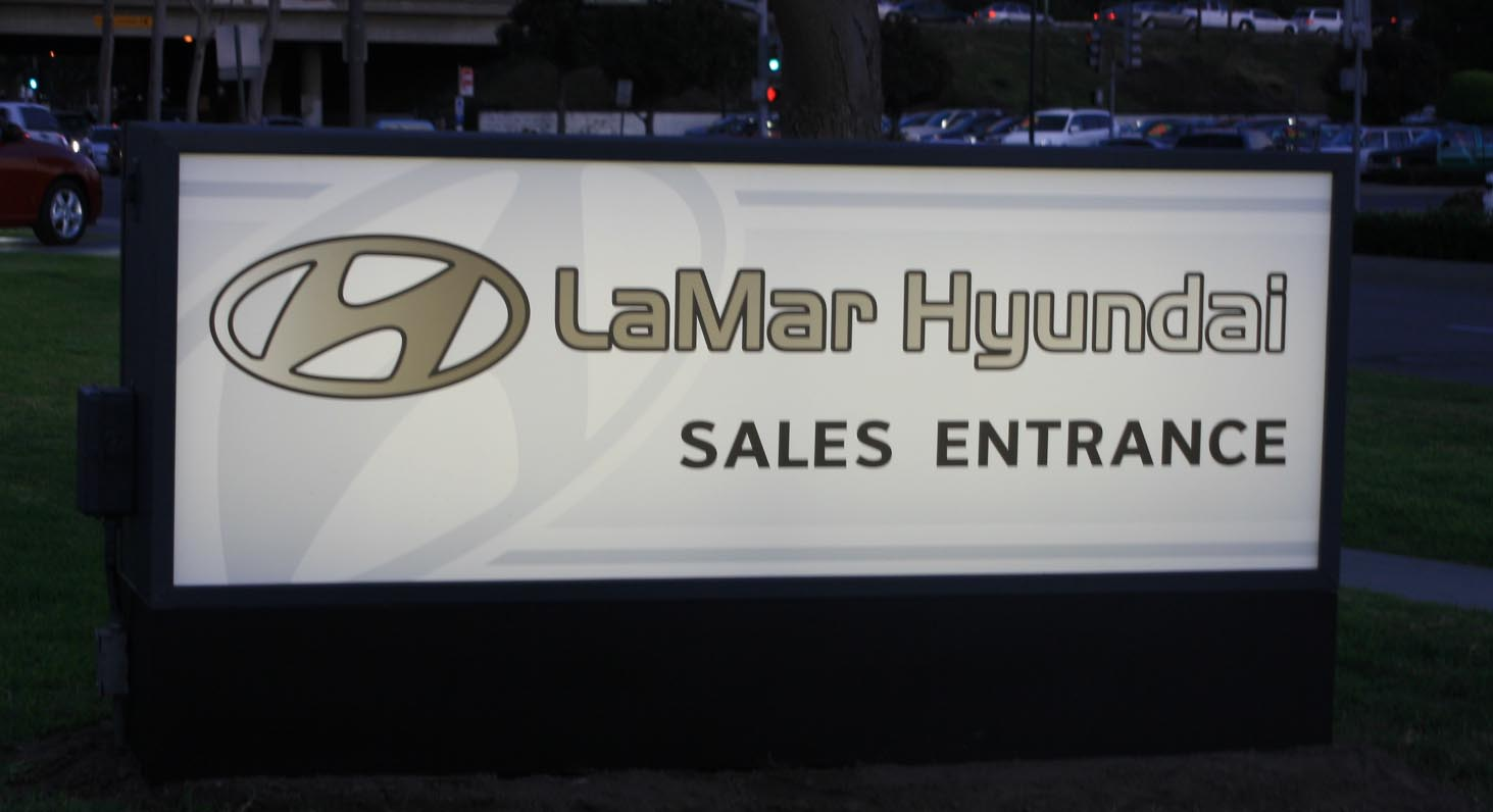 BMW Orange Park >> Monument Signs by Iconography - Long Beach, Orange County, CA - Architectural, Foam, Stucco