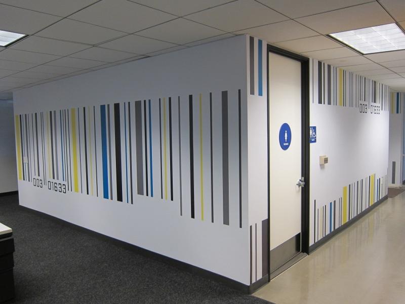 Custom Wall Wraps for MTV Networks in Santa Monica