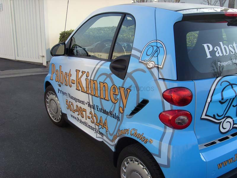 Smart Car Vehicle Wraps