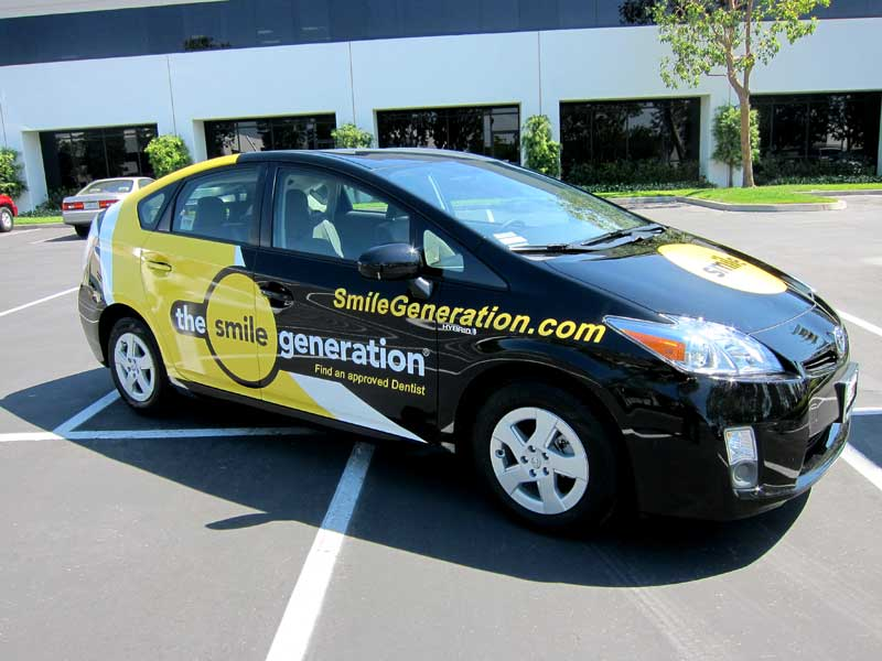 Toyota Prius Vehicle Wrap By Iconography Anaheim Ca