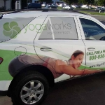 Partial Vehicle Wrap