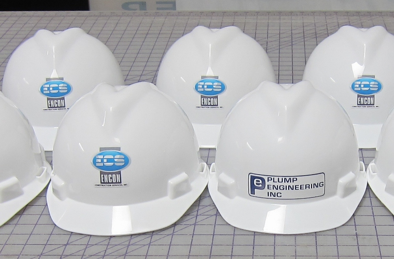 Custom Decals For Hard Hats