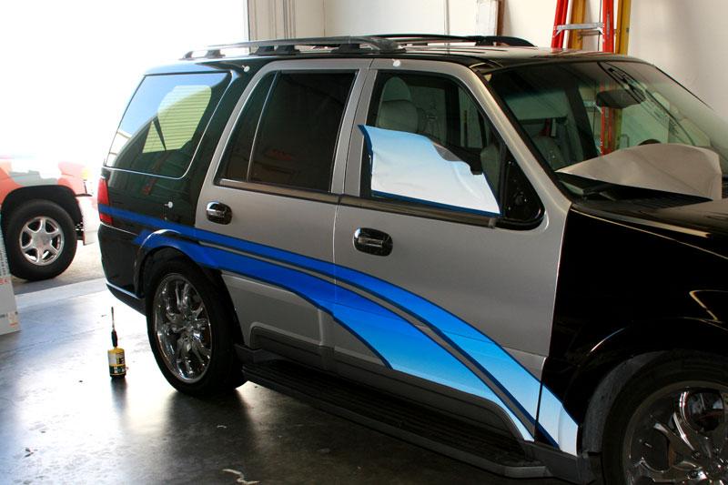 Patrol Car Partial Wrap | Orange County
