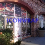 Full Color Digital Print Window Wraps