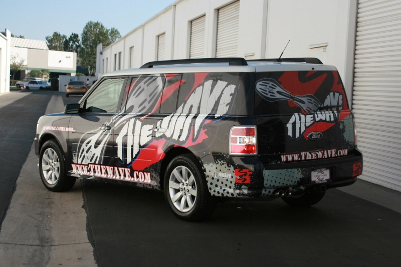 Custom Designed Ford Flex Wrap By Iconography Long Beach Ca