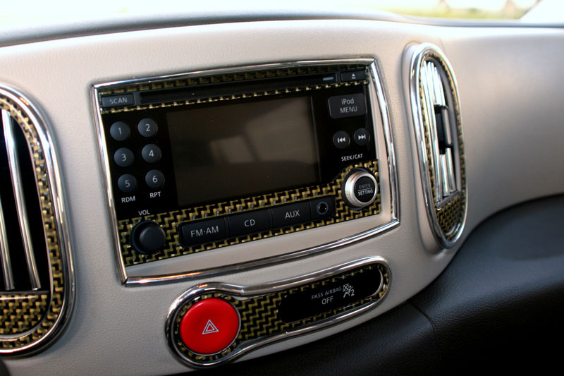 Nissan Cube Woody Customization
