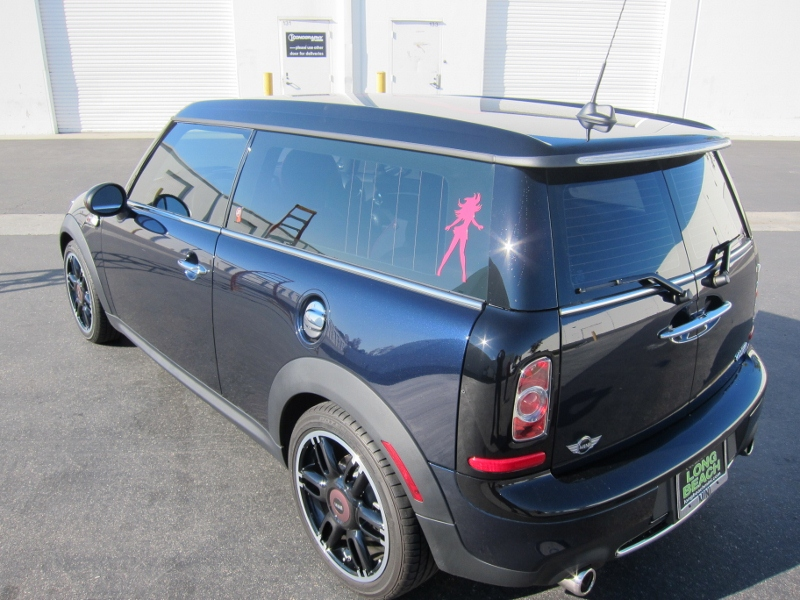 Mini Cooper Custom Roof Graphics Long Beach Ca