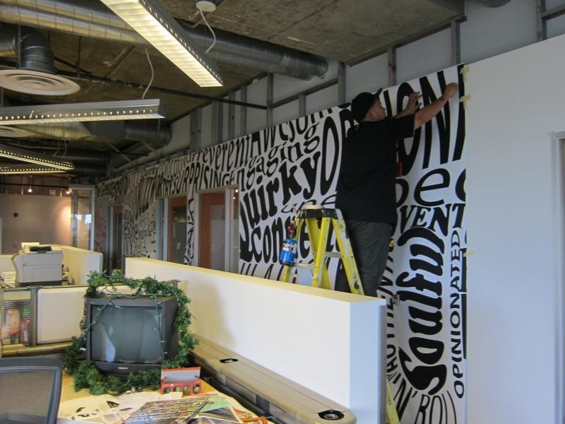 custom interior wall wraps santa monica ca