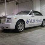Yor Health Fleet Graphics - Rolls Royce