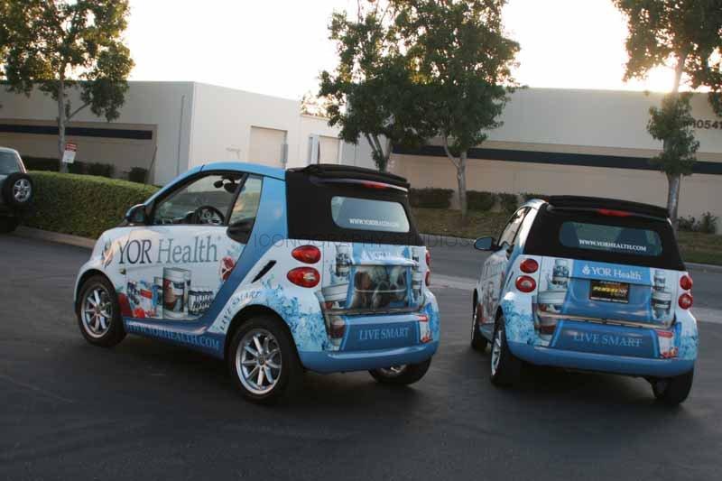 Yor Health Smart Car Wraps