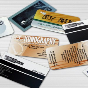 Business card designs by Iconography