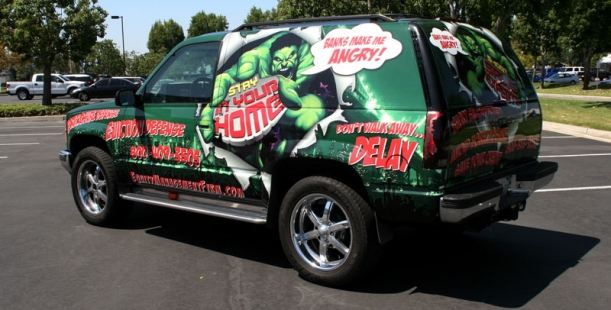 Full vehicle wrap on Yukon for Equity Management Firm ...