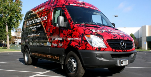 Trade Show Booth : Full wrap for carpet contractors san francisco ca