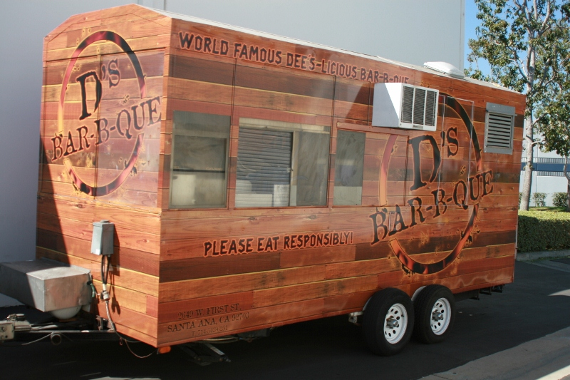 D 39 s bbq food truck wrap testimonial for Food truck design app