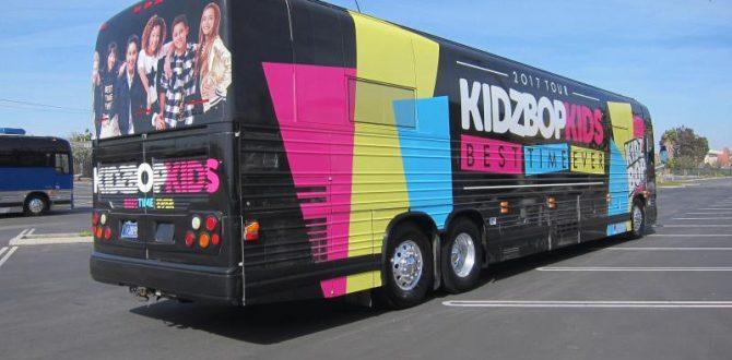 2017 Tour Bus Wrap