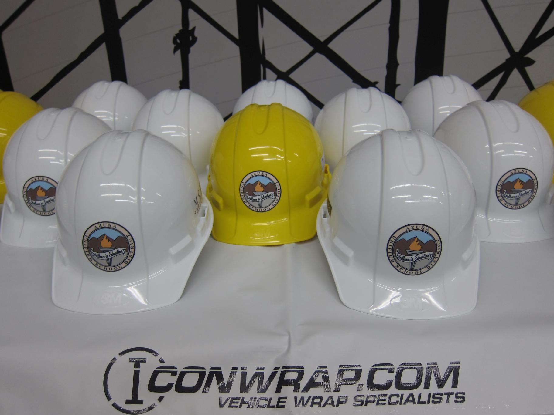Hard Hat Logos, Long Beach, CA