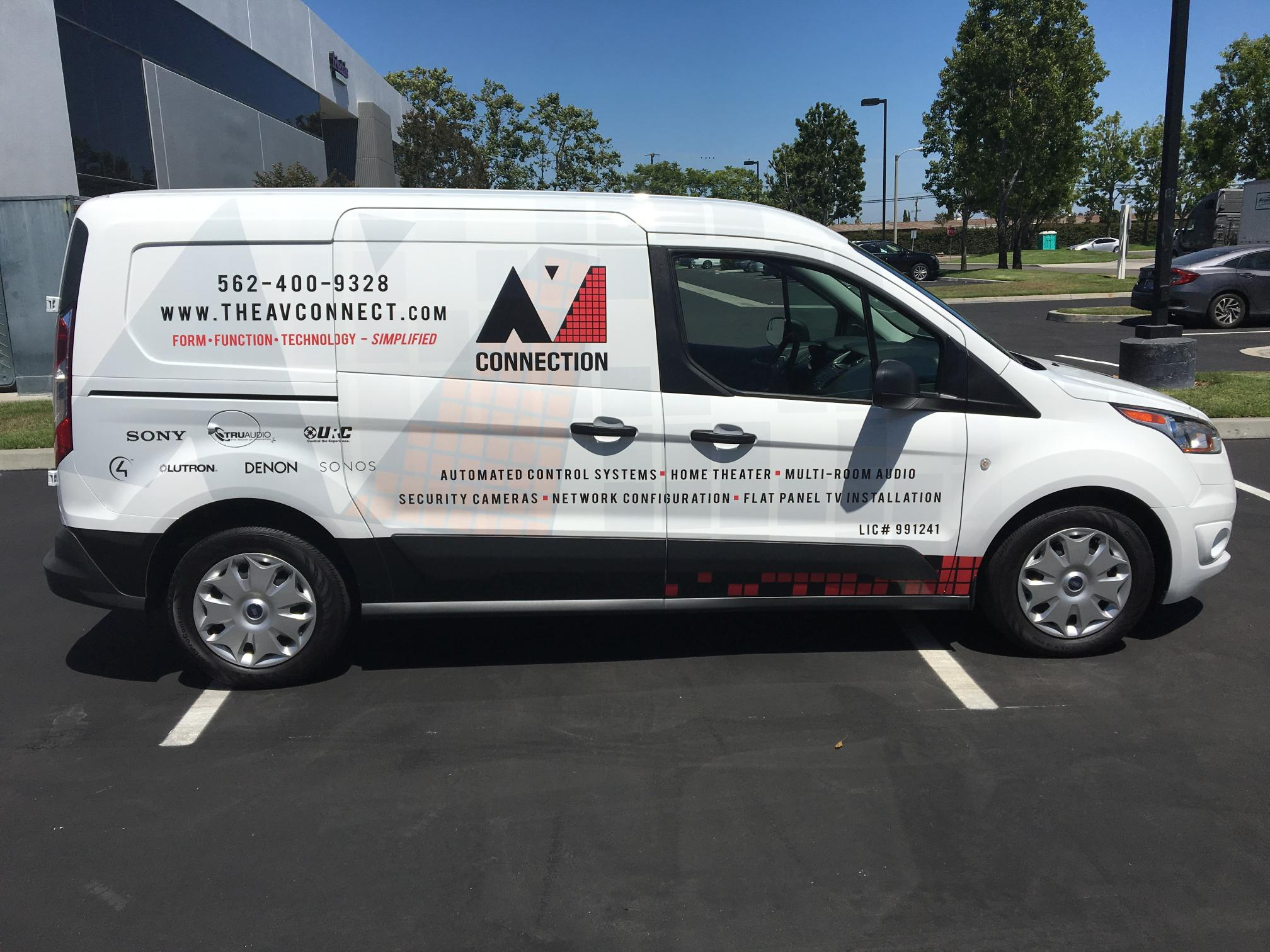 2017 Ford Transit Graphic Wrap
