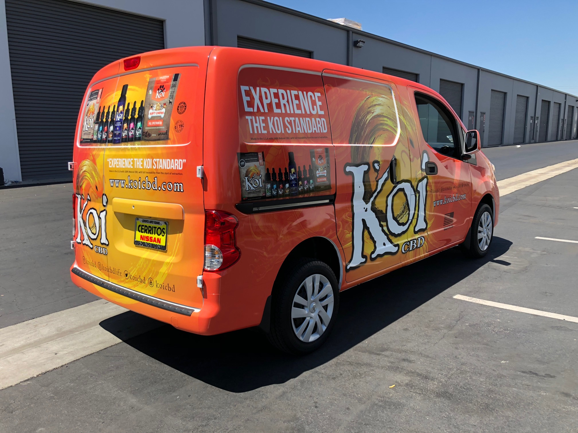 Nissan NV Van Graphic Wrap, Norwalk, CA