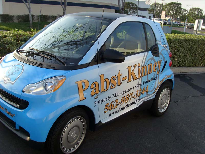 Smart Car Full Wrap