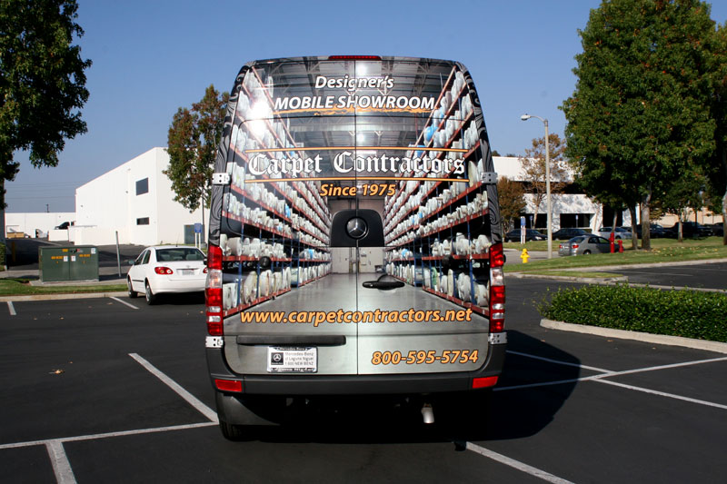 Full Wrap For Carpet Contractors San Francisco Ca