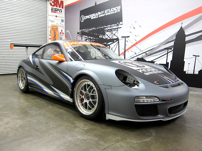 Custom Graphics For Competition Motorsports Porsche Gt3
