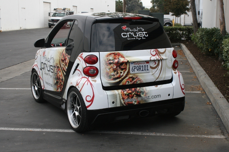 Custom Designed Smart Car Wrap by Iconography | Long Beach