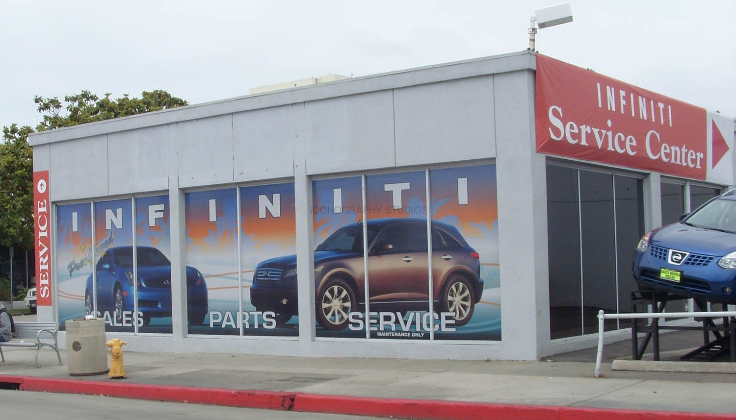 Wall And Window Wraps By Iconography Long Beach Orange