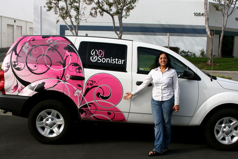 Partial Wrap For Dj Sonistar Norwalk Ca