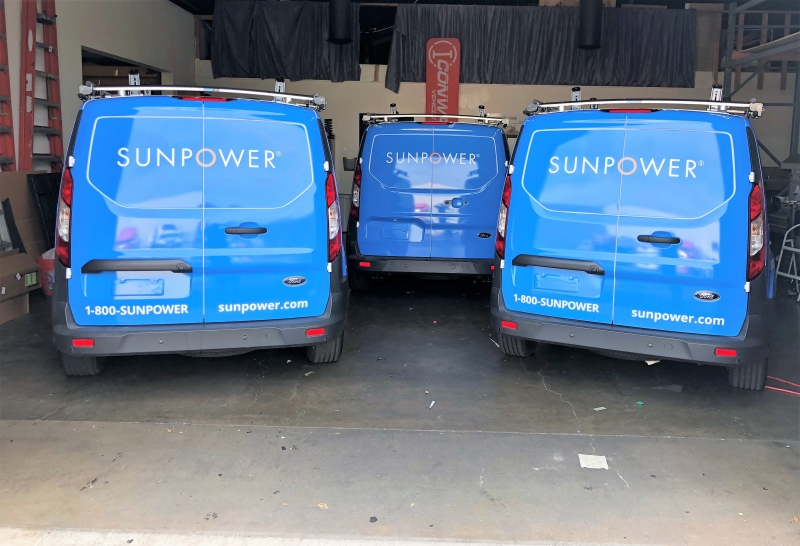 SunPower Fleet Graphics