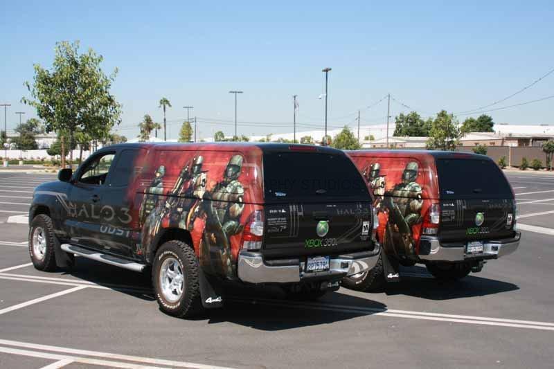 Full Wrap Truck Fleet