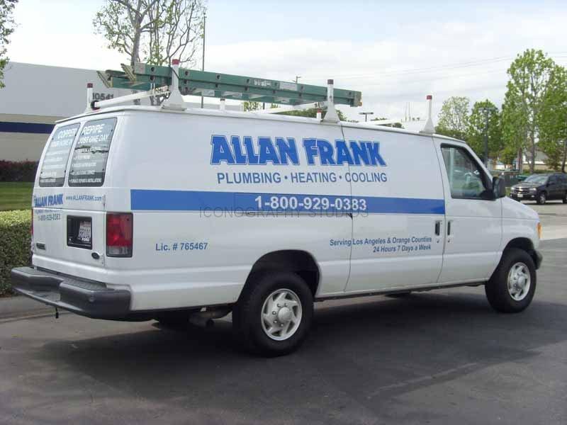 Plumbing fleet graphics