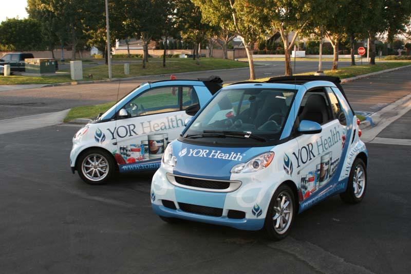 Smart Car Fleet Graphics