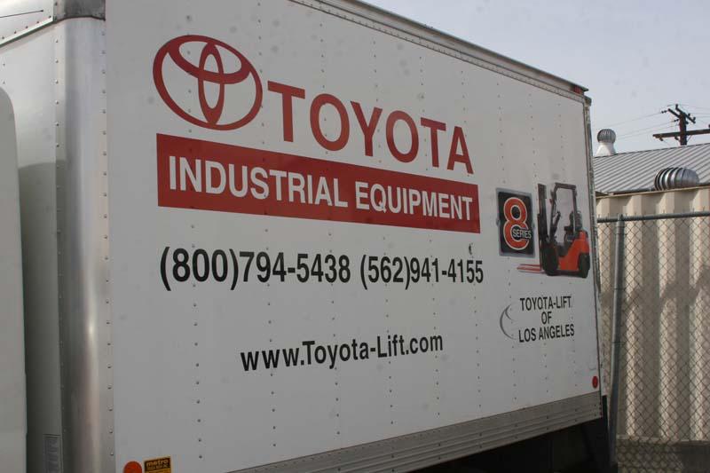 Toyota Fleet Graphics