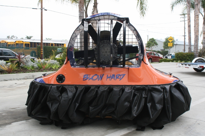 Hovercraft Custom Graphic Wrap