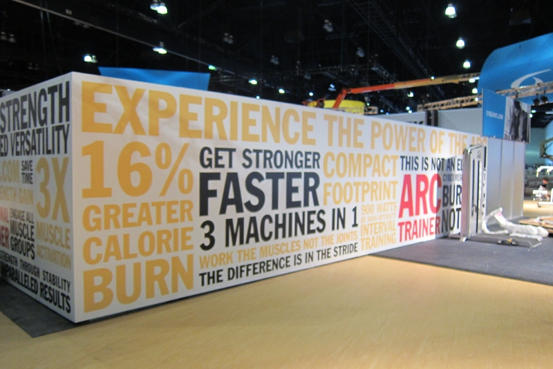 Trade Show Wall Wraps | Los Angeles, CA