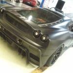 Matte Black Ferrari