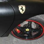 Matte black Ferrari F450