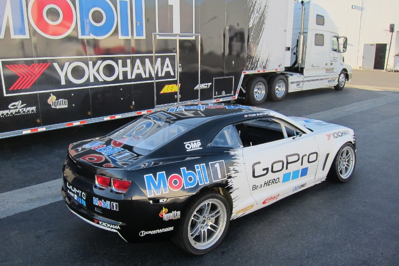 Mobil 1 Go Pro Formula Drift Graphics Long Beach Ca