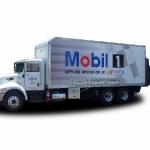 Mobil Box Truck Wrap