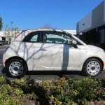 Fiat 500 Vehicle Wrap - Before