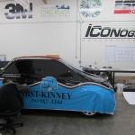 Fiat 500 Vehicle Wrap - In Progress